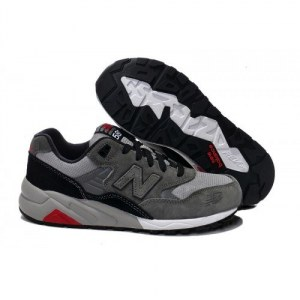New Balance 580 - Grey/Black/Red/