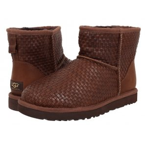 UGG Women Mini Woven - Brown