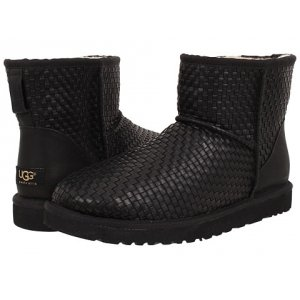 UGG Women Mini Woven - Black