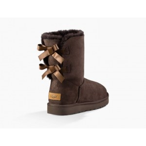 UGG Bailey Bow II - Chocolate