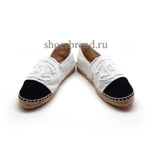 Espadrilles Chanel White New